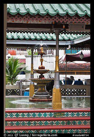 Ablution fountain, Masjid Kampung Hulu. Malacca City, Malaysia