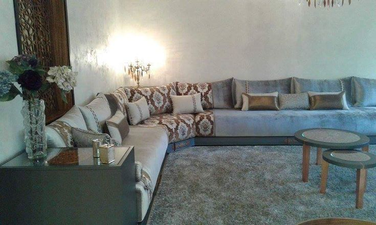 268 best images on pinterest moroccan living rooms morocca - Salon marocain tres chic ...