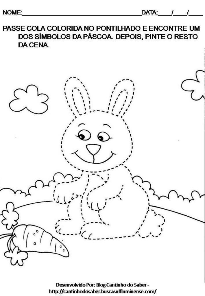 Atividades Para A Pascoa Educacao Infantil Simbolos Com