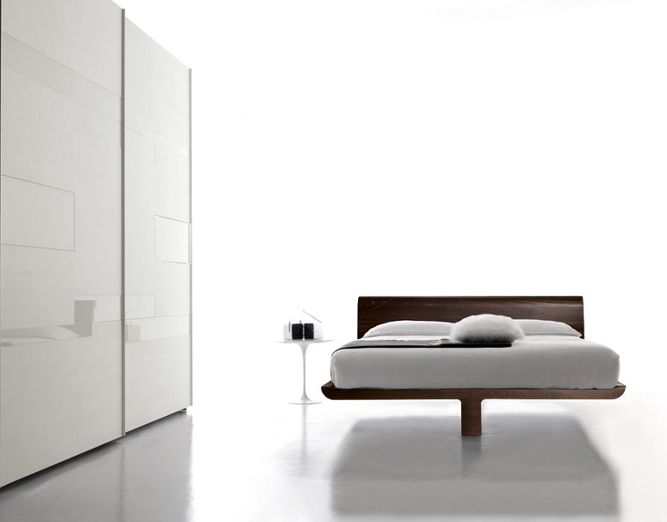VOLO - Composed by 3 elements without RETE.  Brown oak finishing. http://www.fimarmobili.com