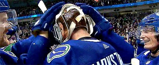 #jacob markstrom #vancouver canucks #goalie love