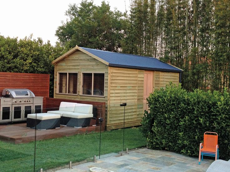 Aarons manufacture and build high quality backyard studios!  Create the perfect extra room and entertainment area - Your One Stop Shop to Transform Your Backyard.