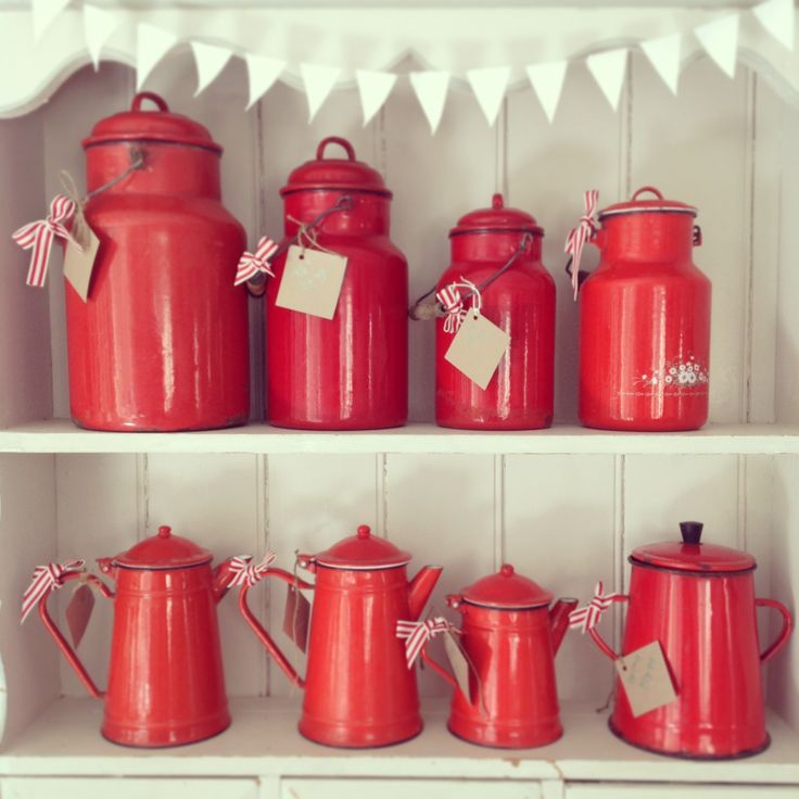 Enamel Kitchen Accessories: 25+ Best Ideas About Vintage Enamelware On Pinterest