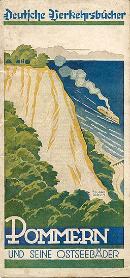 travel brochure pommern und seine ostseebäder 1931