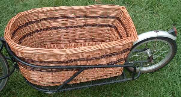 BOB Yak trailer basket