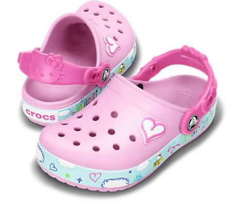 NEW Crocs Hello Kitty Plane Creative Clogs Girls Shoes SZ 8/9 10/11 12/13 Pink #Crocs #Clogs