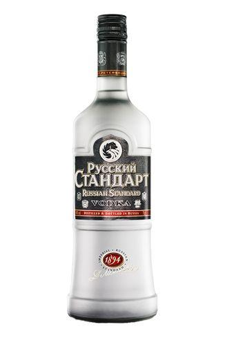 Russian Standard is the best-selling vodka in Russia