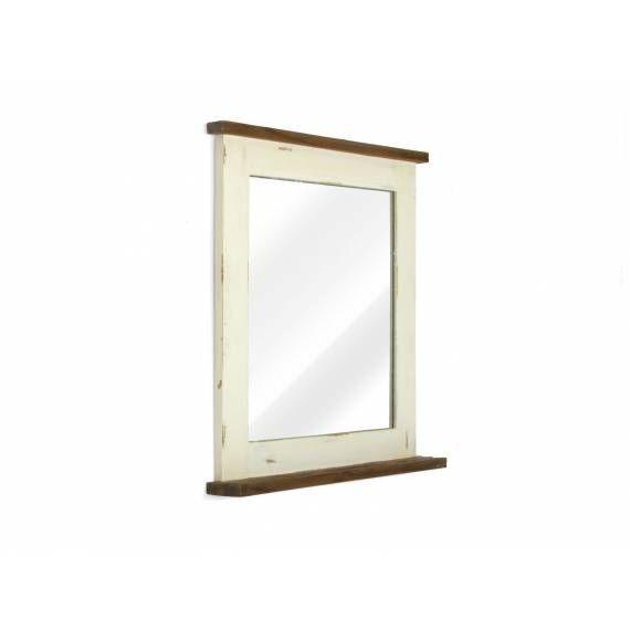 Rustikální zrcadlo do koupelny Tanaris