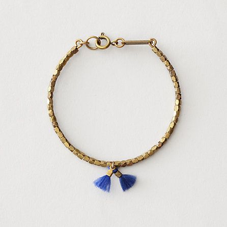 Isabel Marant  WHO AGAIN SINGLE THREAD TASSLE BRACELET