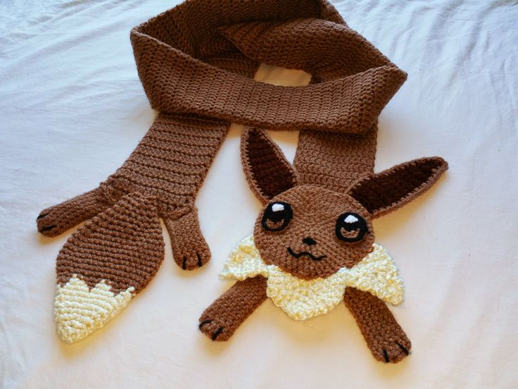 Eevee Scarf! So cute! :3