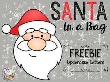 Free! Santa in a Bag Card Game