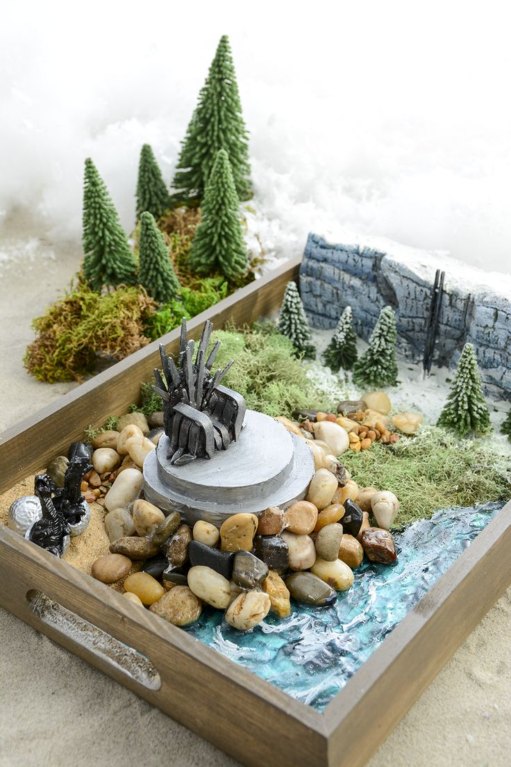 129 best moore fairy gardens images on pinterest for Game of thrones garden ornaments