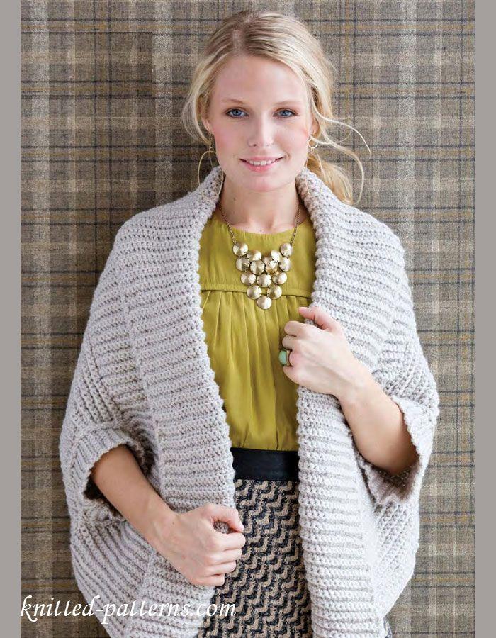 Free Crochet Shrug Pattern