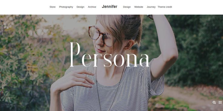 Personal Photography WordPress Themes
