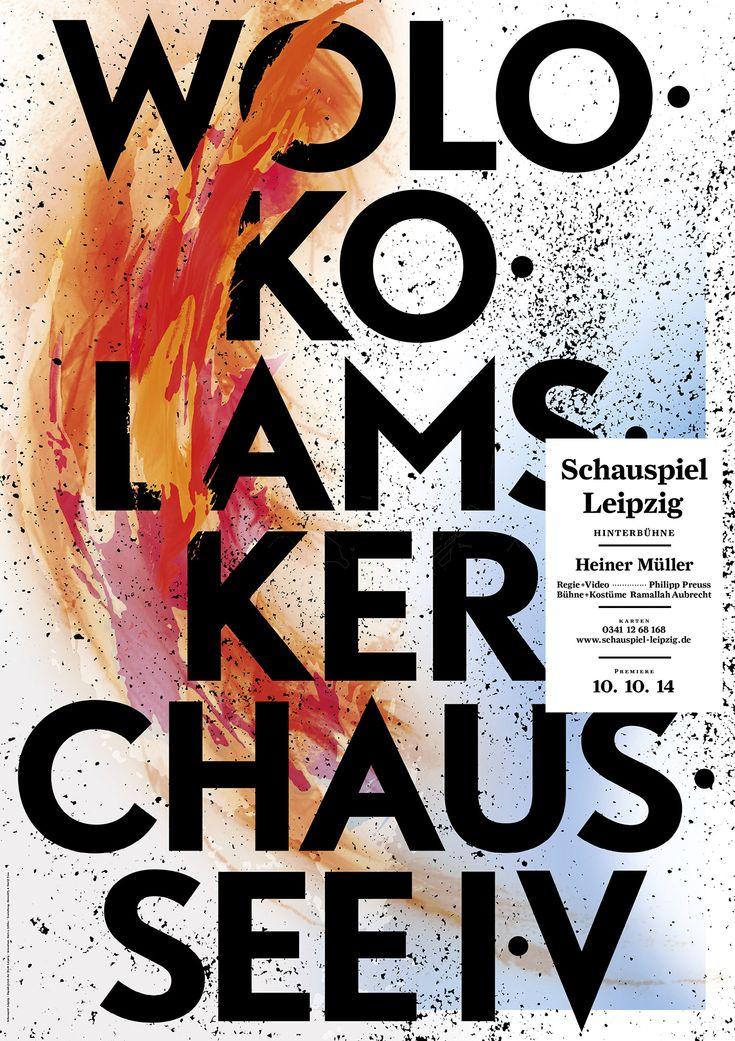 Bureau David Voss, Schauspiel Leipzig 2014/2015, Posters, 2014/2015 (in…