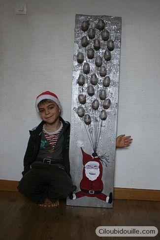 Ciloubidouille » Calendrier de l'avent Père Noël