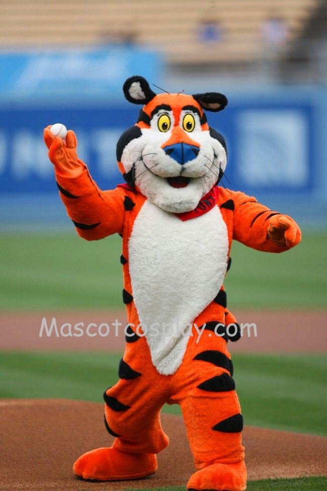 Fancy Costume Tiger Dress Character Mascot the Outfit  Tony