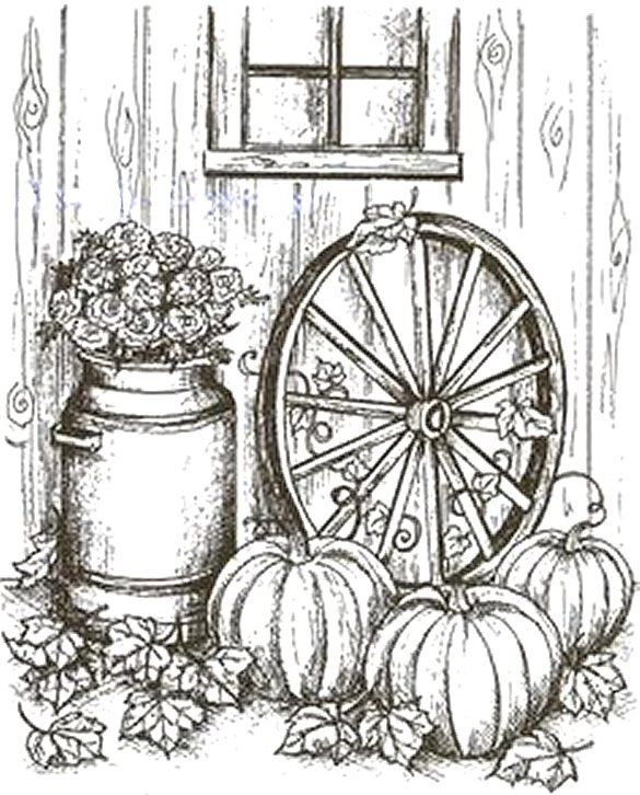 Cartwheel Fall Coloring Pages Halloween Coloring Painting Patterns