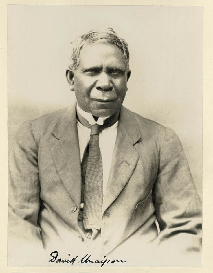 David Unaipon, Australian Aboriginal writer and inventor, late 1920s.  Source: State Library of New South Wales