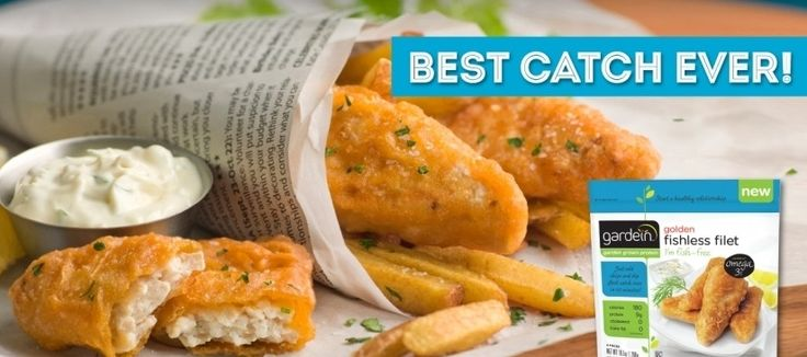 """Gardein Golden Fishless Filets are an absolute life-saver in the kitchen. They are so practical; I stopped making my own vegetarian fish and chips from scratch. There is nothing fishy here, just great taste and 0mega-3s without cholesterol. Dip in … <a href=""""http://vegfusion.org/product-review/product-review-gardein-golden-fishless-filets/"""">Continue reading <span class=""""meta-nav"""">→</span></a>"""