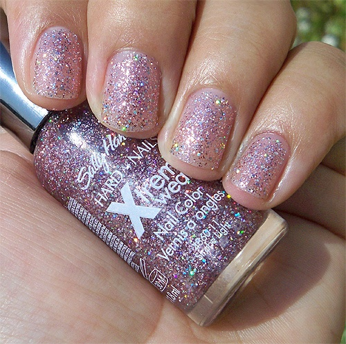 """sally hansen x-treme wear """"strobe light"""" this is one of my faves...it """"JAZZES"""" up any color!!!"""