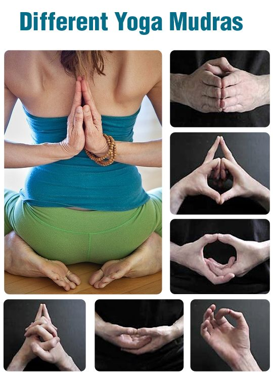 8 Amazing Yoga Mudras