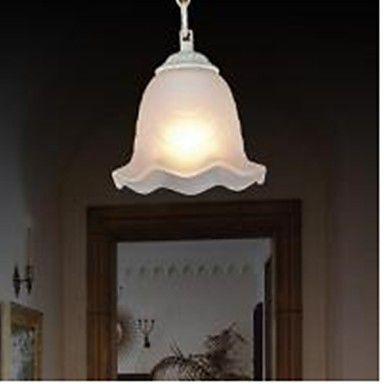Traditional/Classic / Vintage / Retro Painting Metal Pendant Lights Bedroom / Dining Room / Study Room/Office / Hallway