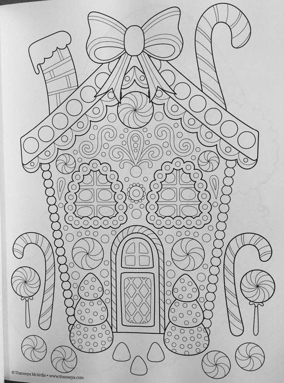 Adult Coloring Pages Books Christmas Sheets Mandala Noel Childrens Embroidery