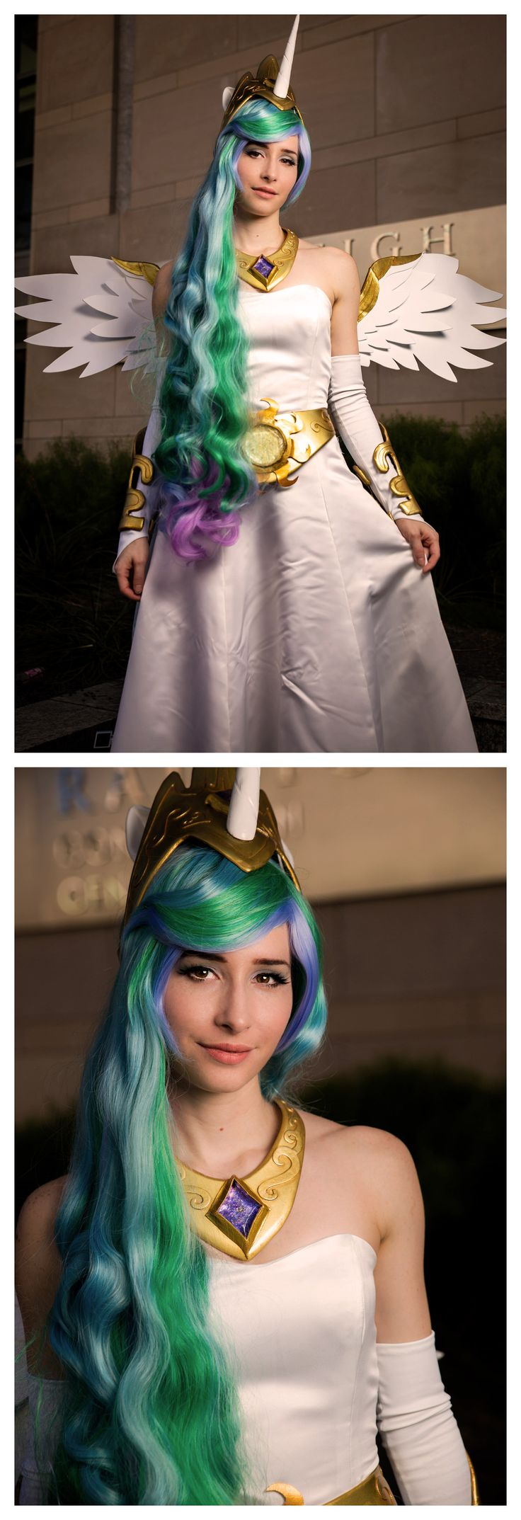 Princess Celestia from My Little Pony #Cosplay
