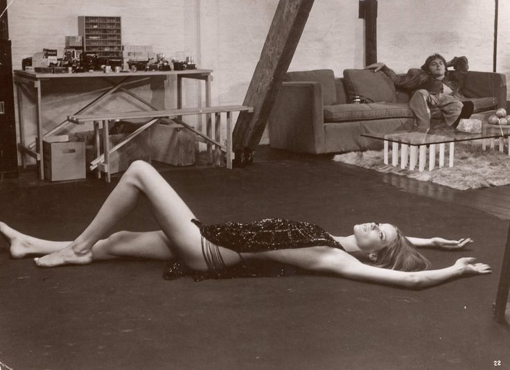 Photo 1 from Veruschka and David Hemmings in  Blow-Up, 1966
