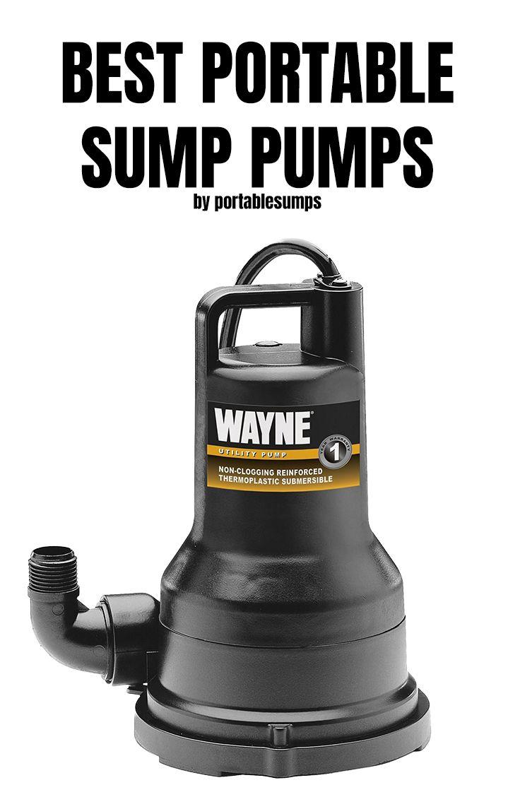 Best Sump Pump 2019 Top Sump System Sump Pump Sump Utility Pumps