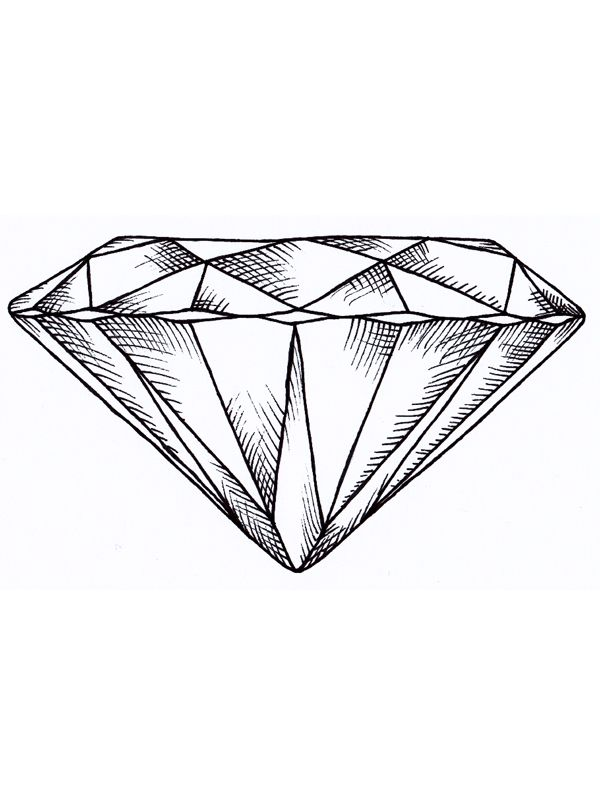 Diamant  Die besten 25+ Diamant tattoos Ideen auf Pinterest | Königin ...