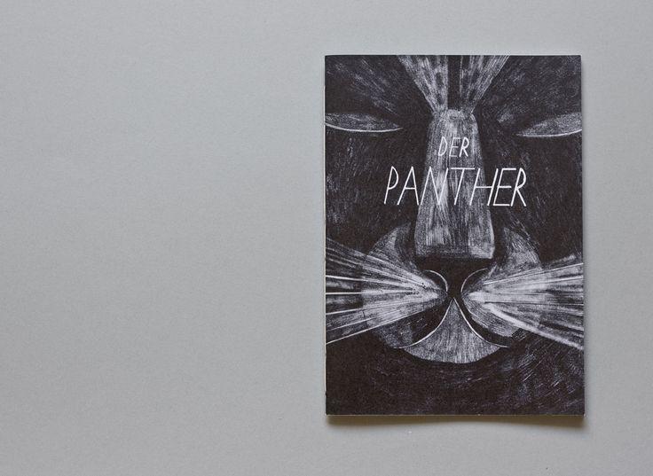 Das Gedicht »Der Panther« von Rainer Maria Rilke dient bei dieser Arbeit als Inspiration und Leitfaden. Das illustrierte Heft, bestehend aus 16 Seiten, zeigt meine Interpretation des Gedichts. In den Illustrationen werden Szenarien dargestellt, die sich in meiner Vorstellung um das im Gedicht beschriebene Geschehen herum abspielen. Riikka Laakso http://www.riikkalaakso.com