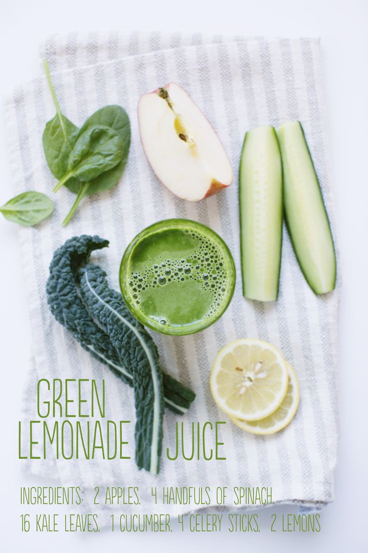 "Lemonade with a green health kick. Recipe from ""Reboot with Joe"" Juice Book!"