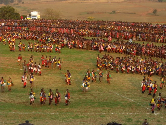 The Reed Dance - Swaziland