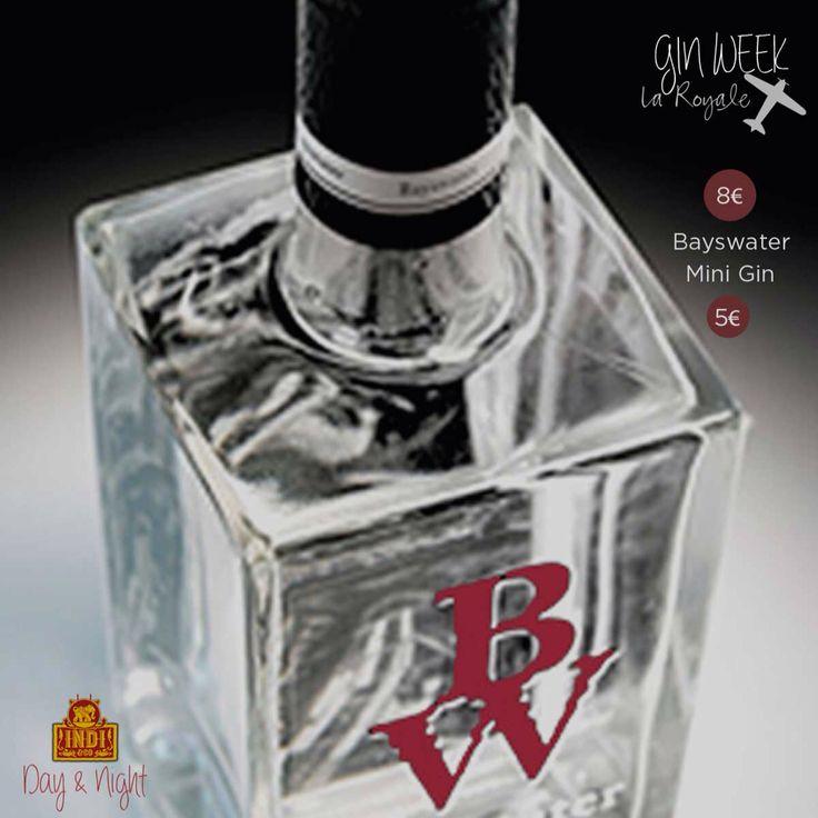 """Esta semana en La Royale celebramos la """"Gin Week"""" de la mano de Bayswater London Dry Gin y Indi Tonic. Una semana en la que podrás disfrutar de nuestros Gin Tonics Premium de Bayswater a 8€ y mini Gin Tonics a 5€.   #LaRoyale #PacoPérez #Barcelona #GinWeek """