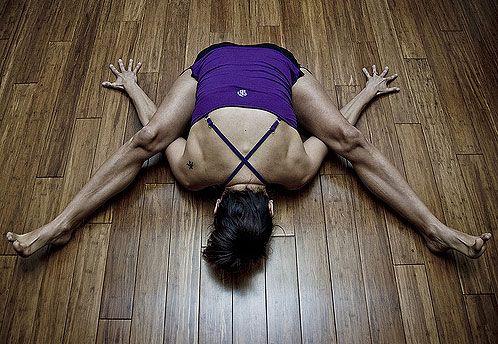 kurmasana tortoise pose  crazy yoga poses yoga poses