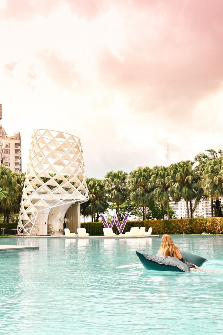 Escaping The City At The W Singapore Sentosa Cove Singapore