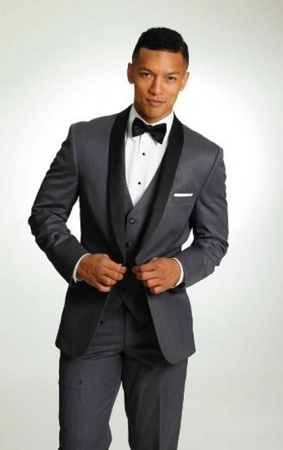 Hot Selling Navy Blue Business Mens Suits 3 Pieces (Jacket+Pants+vest) Wedding Tuxedos Groomsmen Best Man Formal Suit for Men