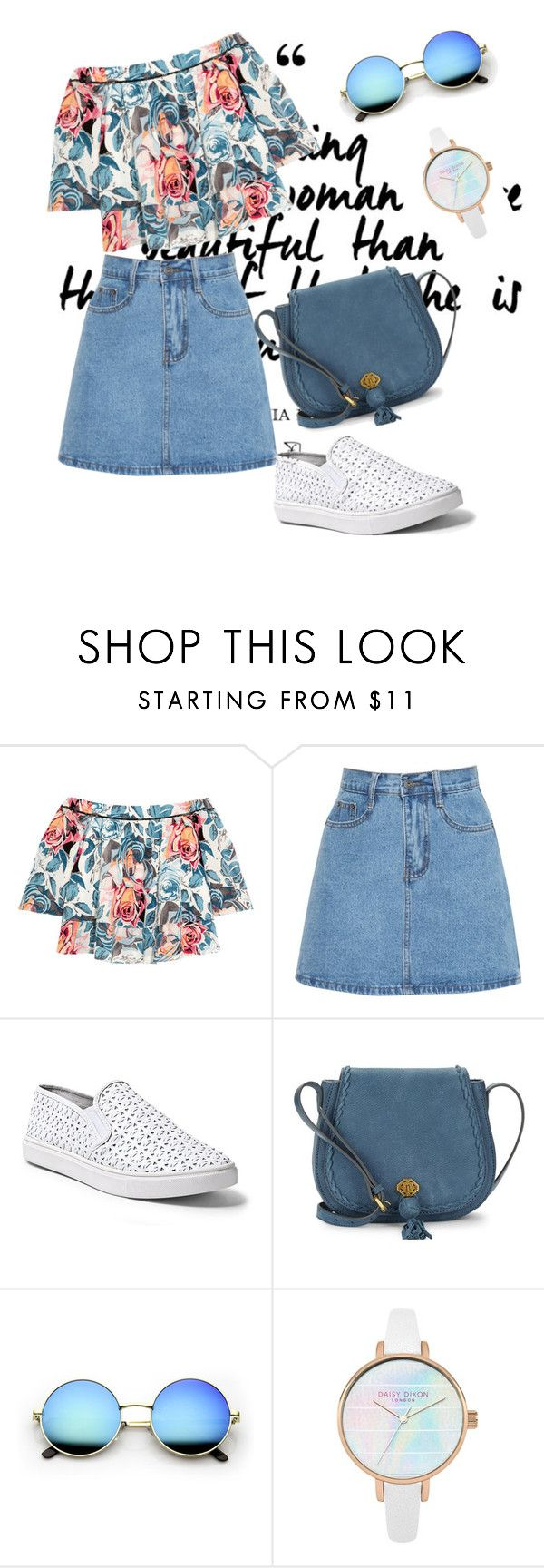 """""""Casual"""" by megeller ❤ liked on Polyvore featuring Elizabeth and James, Steve Madden and Nanette Lepore"""