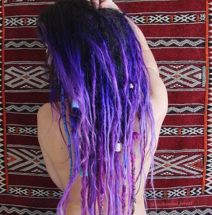 Purple dreads are my favorite