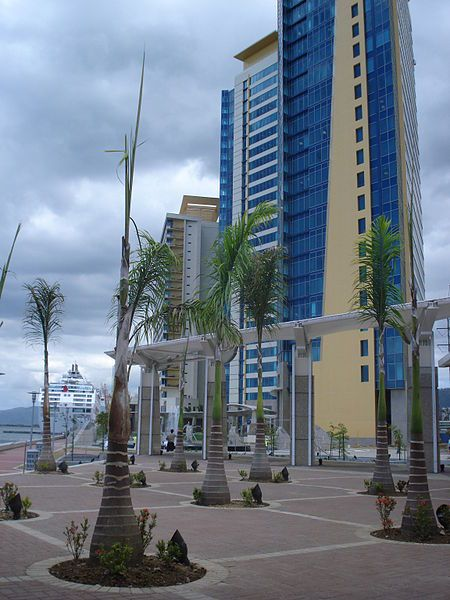 Port of Spain, Trinidad and Tobago. International Waterfront Center