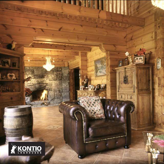 Construire Une Maison En Bois Massif De La Marque Kontio.