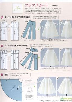 [Reservado] [información] revista libro de estilo de recorte a explicar el cambio de prototipo - falda _ pequeña Baoma _ blog de Sina