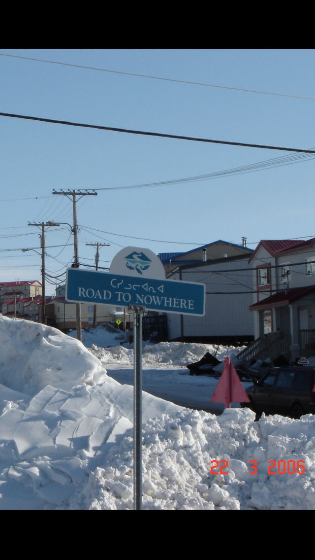 Only in Iqaluit, Baffin Island
