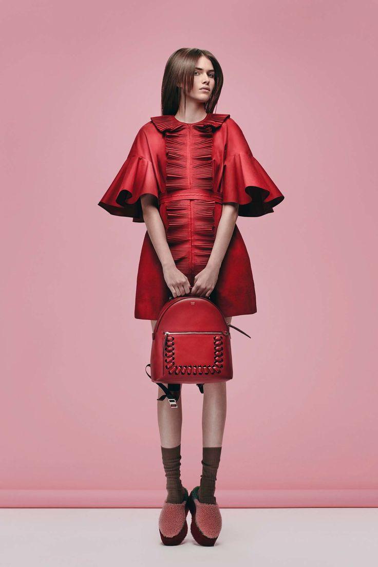 Fendi Pre-Fall 2016 by Karl Lagerfeld and Silvia Venturini Fendi
