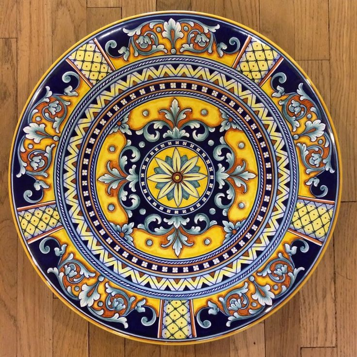 Geometrico Ornato Large Decorative Platter