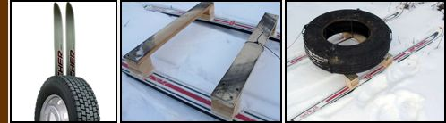 TEMPO DI NEVE: SLITTINO FAI DA TE   La stagione invernale e nel cuore. Vi proponiamo un modo originale per creare uno slittino adatto per gli appassionati di sci e non a partire da un vecchio pneumatico e da un paio di sci inutilizzati. Per realizzare la creazione e necessario rimuovere gli attacchi dagli sci ed utilizzare i fori degli attacchi per fissare due assi di legno. Le assi di legno sono facilmente reperibili da vecchi sostegni per pallet inutilizzati presenti nei magazzini delle…
