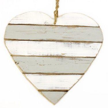 Coeur en bois cabane souris