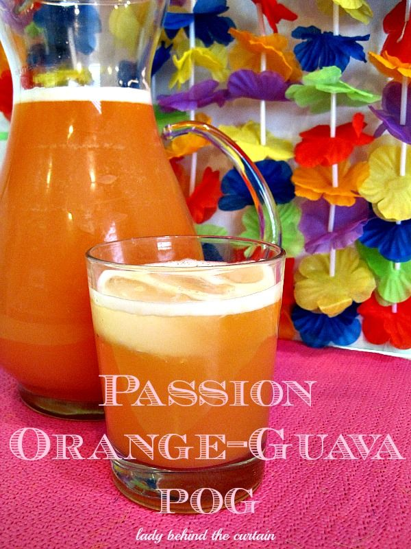 Celebrate the beauty of the Islands with this delicious tropical drink!  Serve POG-Passion-Orange-Guava juice at your next brunch! Your guests will love it.
